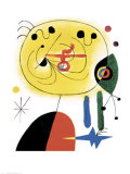 And Fix the Hairs of the Star Láminas por Joan Miró
