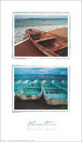 Beached Boats Prints by Tom Haseltine