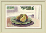 Still Life with Pears in a Sunny Window Giclee Print by Mark Hampton