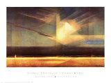 Vogel Wolke Posters af Lyonel Feininger
