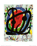 Exposition XXII salon Posters par Joan Miró