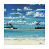 Caribbean Palms Posters by Rick Novak