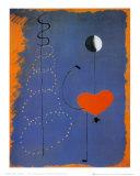 Balleriina II, n. 1925 Julisteet tekijänä Joan Miró