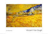 The Harvester Prints by Vincent van Gogh