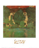 Kammer on Attersee Posters by Gustav Klimt