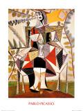 Femme Au Jardin Prints by Pablo Picasso
