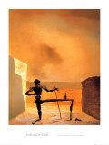 The Ghost of Vermeer Poster af Salvador Dalí