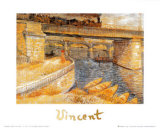 The Bridge at Asnieres Prints by Vincent van Gogh