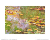 Water Lily Pond at Giverny Plakat av Claude Monet