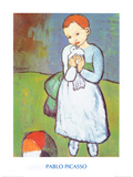 Child with a Dove, c.1901 Kunstdrucke von Pablo Picasso