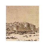 Grand Canal Beyond Rialto Prints by Francesco Guardi