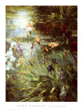 Water Garden Symphony II Art by Greg Singley
