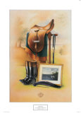 Equestrian Illustration II Posters by Michael Scaraglino
