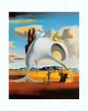 Atavistic Vestiges after the Rain, 1934 Poster av Salvador Dalí