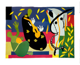 王の悲しみ 1952年 アート : アンリ・マティス