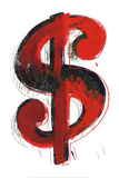 Dollar Sign, 1981 Posters af Andy Warhol