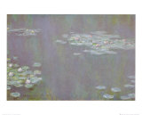 Water Lilies, c.1905 Art by Claude Monet
