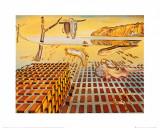 La désintégration de la persistance de la mémoire|The Disintegration of the Persistence of Memory, vers 1954 Affiches par Salvador Dalí