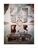 La madone de Port Lligat Art par Salvador Dalí