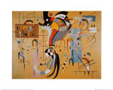 Milieu Accompagne Posters by Wassily Kandinsky