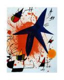 L'Etoile Bleu Affiches par Joan Miró