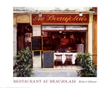Restaurant au Beaujolais Posters by Robert Schaar