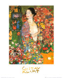 La ballerina Poster di Gustav Klimt