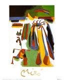 Paysan Catalan au Repos, c.1936 高画質プリント : ジョアン・ミロ