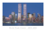 World Trade Center 1973-2001 Poster by Richard Berenholtz