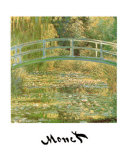 Water Lily Pond Plakater af Claude Monet