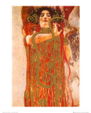 Hygieia (detail from Medicine) Posters by Gustav Klimt