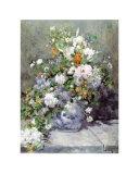 Grande Vaso di Fiori Posters af Pierre-Auguste Renoir