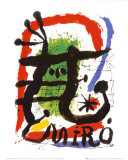 Alcohol de Menthe Print by Joan Miró