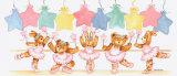Clase de ballet en tonos pastel Lámina por Marnie Bishop Elmer