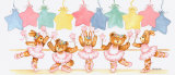 Pastel Ballet Class Print by Marnie Bishop Elmer