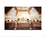 Le Sacrement de la Dernière Cène, 1955 Affiches par Salvador Dalí