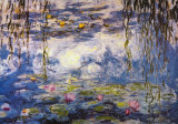 Nymphéas Affiches par Claude Monet