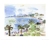 La Promenade des Anglais, c.1928 Posters by Raoul Dufy