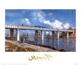 Bridge Prints by Claude Monet