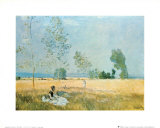 Spring in Argenteuil Art by Claude Monet