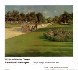 Prospect Park, Brooklyn Prints by William Merritt Chase