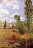 Ile St. Martin Plakater av Claude Monet