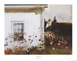 Around the Corner Poster von Andrew Wyeth