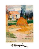 Ferme a Arles Print by Paul Gauguin