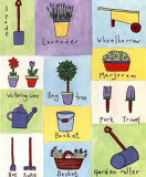 Garden Herb II Posters by Lorraine Cook