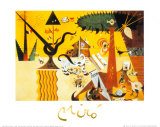 Terre Labouree, c.1923 Prints by Joan Miró