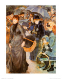 Umbrellas Print by Pierre-Auguste Renoir