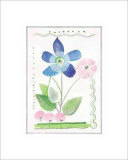 Indian Periwinkle Prints by Lucie Chis