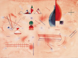 Batonnets d&#39;Appui Posters by Wassily Kandinsky