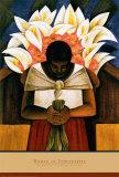 Frau aus Tehuantepec Poster von Fernando Diaz